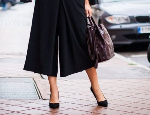 How to wear shoes with pants culotte